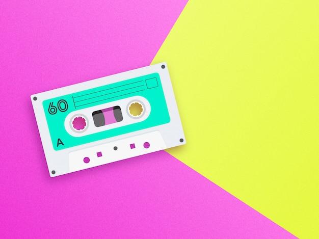 Old school musik hintergrund