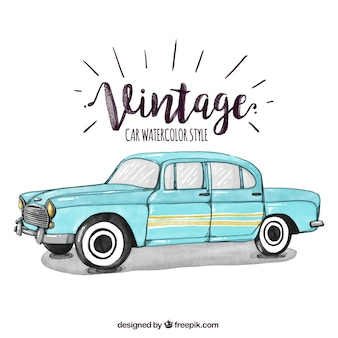 Oldtimer Illustration