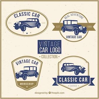 Oldtimer-logo-sammlung