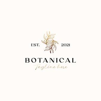 Olive leaf gold gradient logo vorlage in weißem hintergrund isoliert