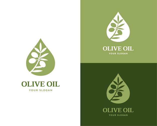Olivenöl-logo-vektor