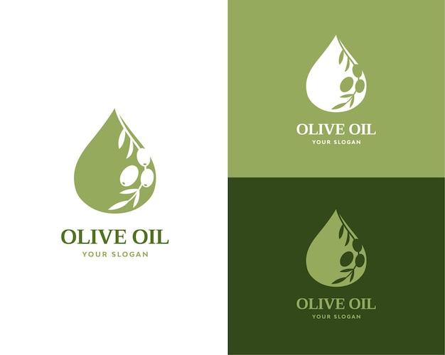 Olivenöl-logomarke