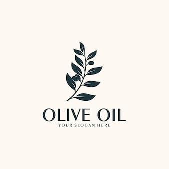 Olivenöl, nativ, inspiration für das logodesign