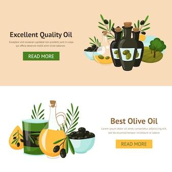 Olivgrüne design-konzept