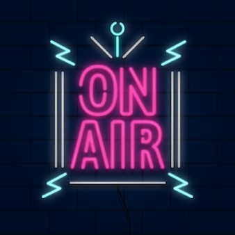 On air neonrahmen