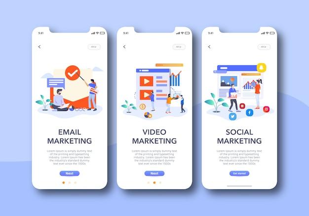Onboarding für digitales marketing