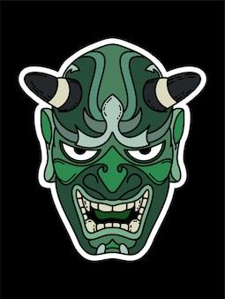 Oni-masken-design