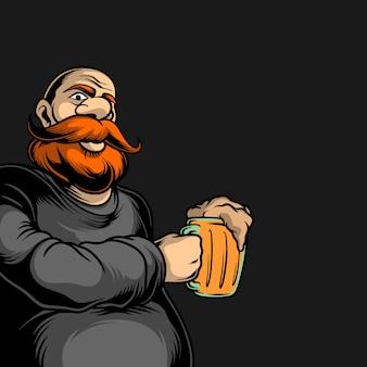 Onkel trinkt bier