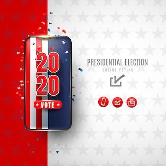 Online-abstimmung für präsidentschaftswahlen