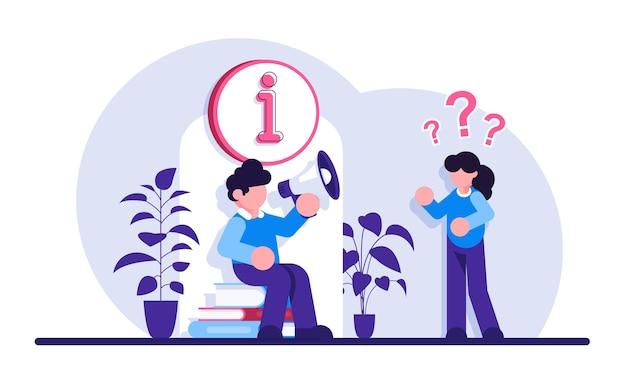 Online-assistent benutzerhilfe häufig gestellte fragen website-faq-bereich