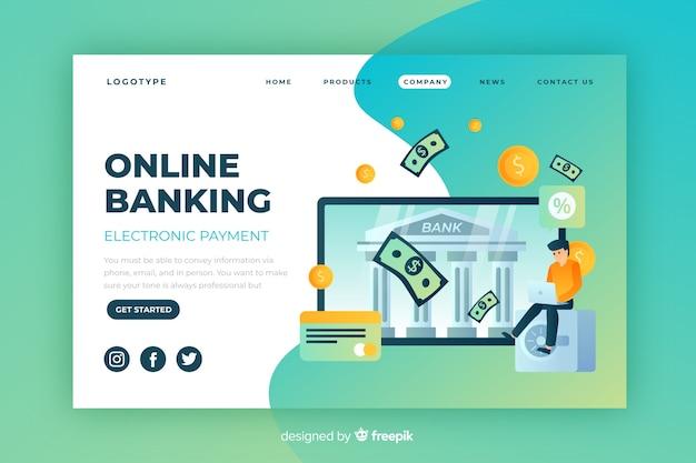 Online-banking-zielseite