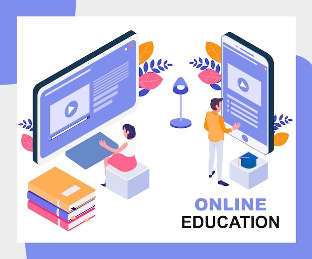 Online-bildung abbildung