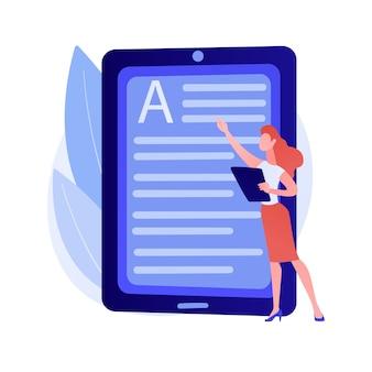 Online-buchung buchen. digitale bibliothek, e-reading, e-books-archiv. internet-buchhandlung. mobiler ereader. dokument- und textbearbeitung. kreatives schreiben