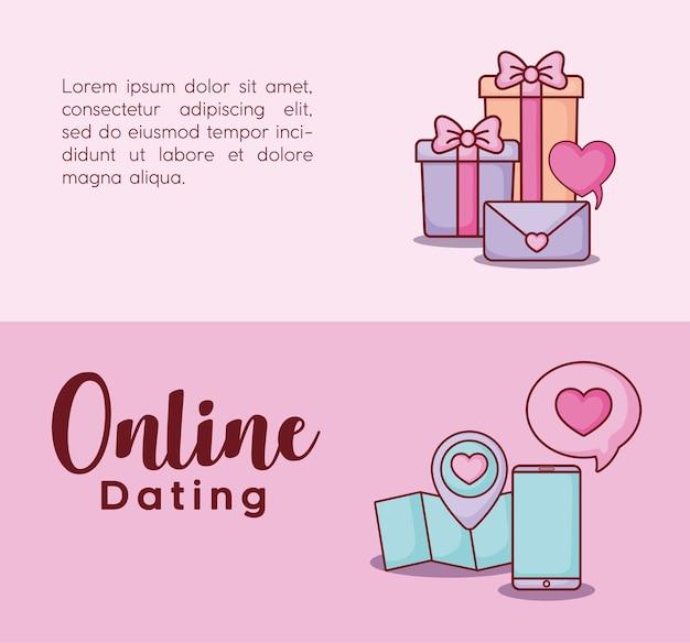 Online-dating infografik