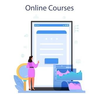 Online-dienst oder plattform des datenbankadministrators