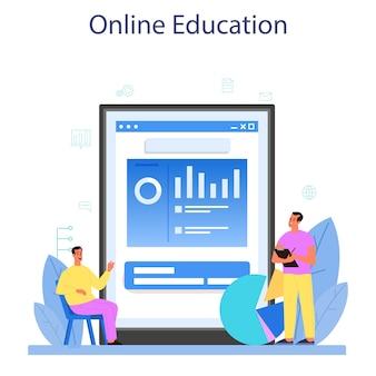 Online-dienst oder plattform des datenbankadministrators.