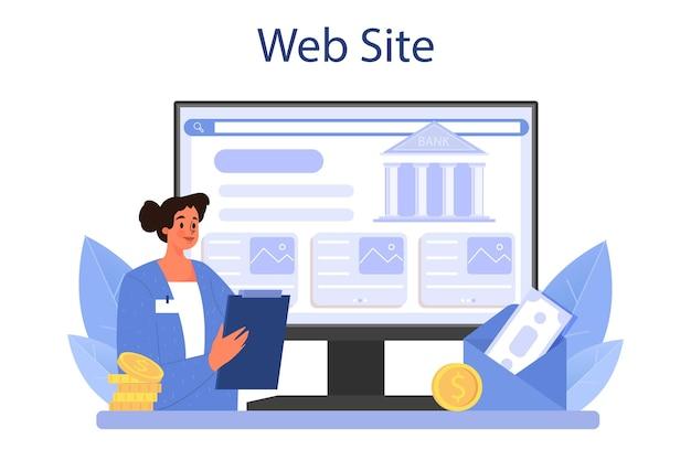 Online-dienst oder plattform für pensionskassenmitarbeiter. spezialist hilft