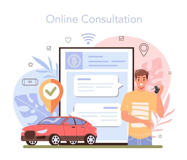 Online-dienst oder plattform zur reisebuchung. kauf eines flugtickets