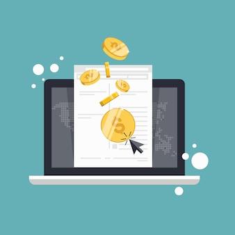 Online einkaufen und bezahlen