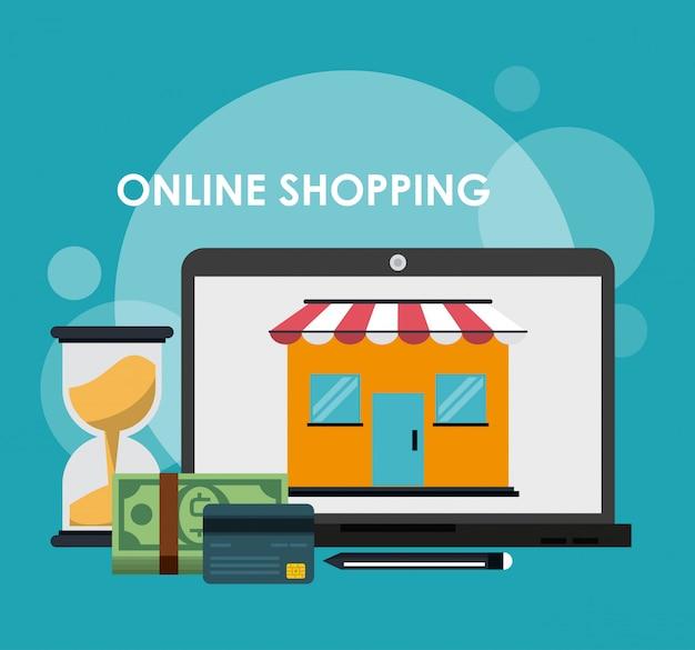 Online einkaufen und vermarkten