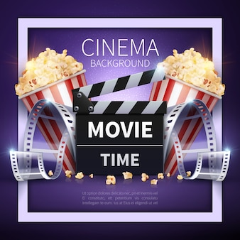 Online-filme und unterhaltungsindustrie hintergrund