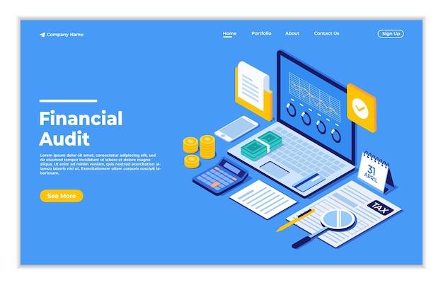 Online-finanzprüfung mit unterlagen zur steuerberechnung und einreichung