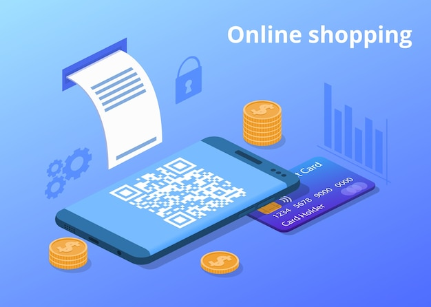 Online-handy-shopping-illustration