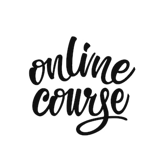 Online-kursbeschriftung