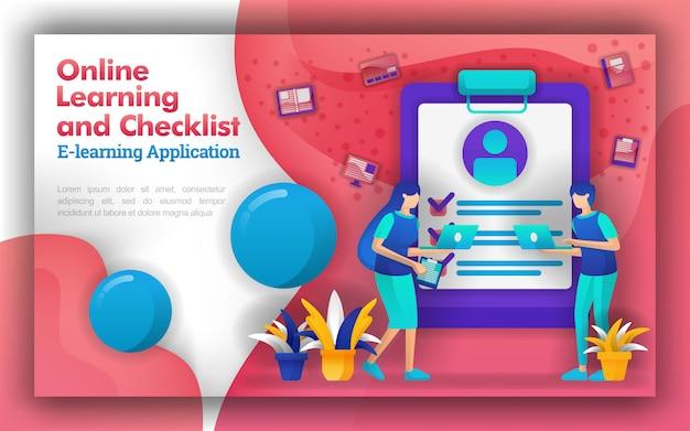 Online-lernen mit tests oder prüfungen