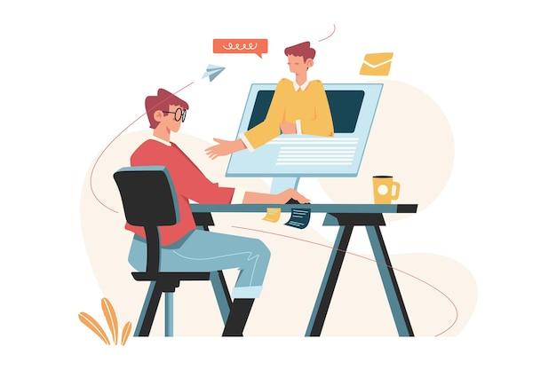 Online-lernen und heimunterricht