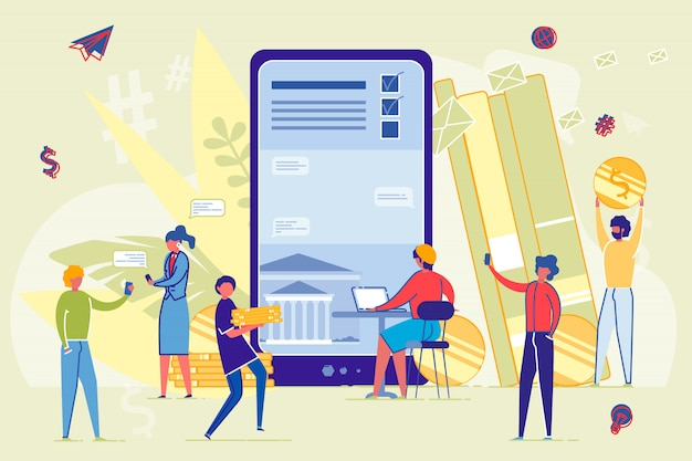 Online lernen und von bildung profitieren.
