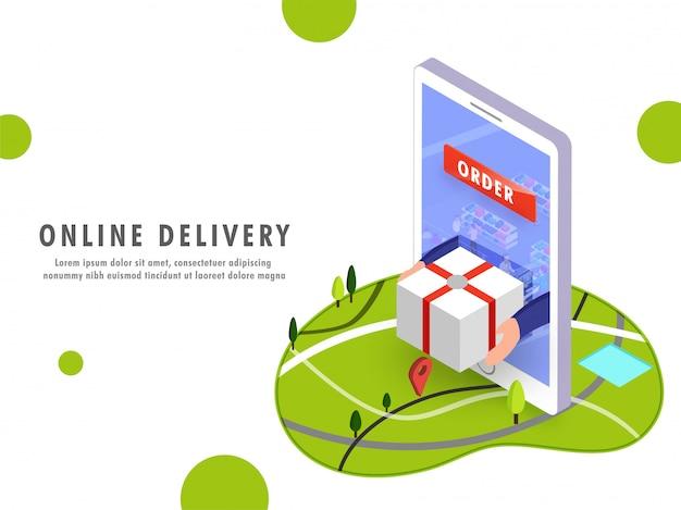 Online-lieferung
