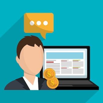 Online-marketing und e-commerce-vertrieb