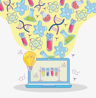 Online-naturwissenschaftlicher unterricht