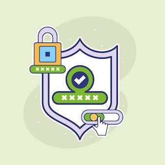Online-passwortsicherheit