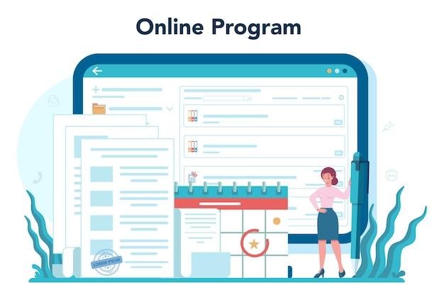 Online-plattform-banner-vorlage