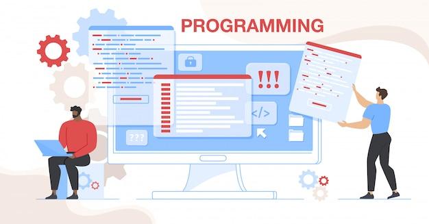 Online-projekt css html-codierung und programmierung