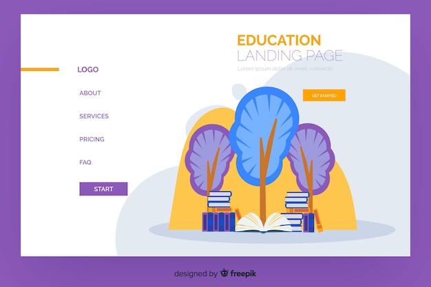 Online-schulungs-landing-page-vorlage