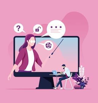 Online-schulungs- und e-learning-konzept