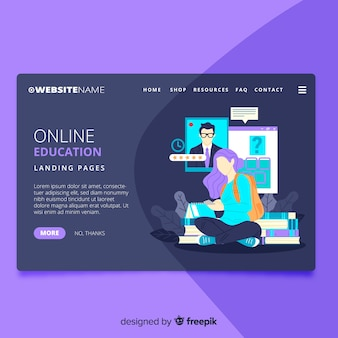 Online-schulungsseite