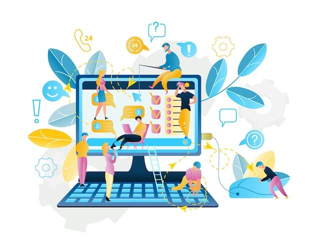 Online-service für online-shopping im internet