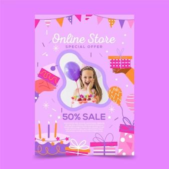 Online-shop flyer vorlage stil