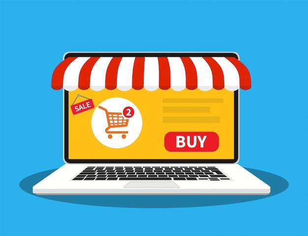 Online shop. webshop.