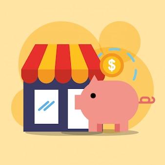 Online-shopping-handel