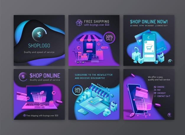 Online-shopping-instagram-beiträge