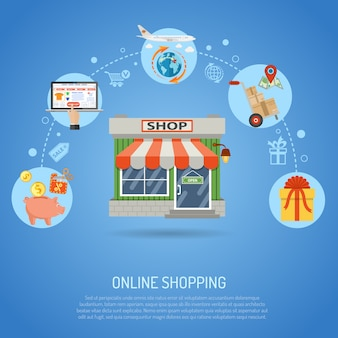Online-shopping-konzept
