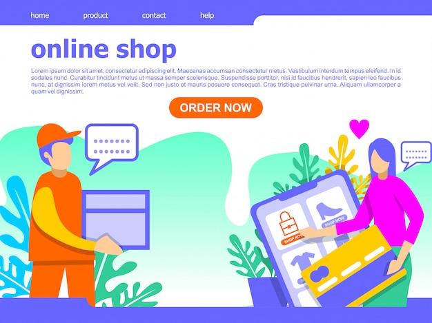 Online-shopping-landing-page-illustration