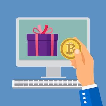 Online-shopping mit bitcoin