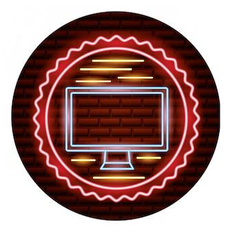 Online-shopping-neon-karte