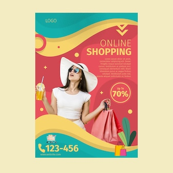 Online-shopping-poster